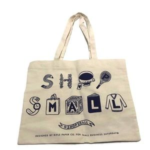 Handbags - Shop Small Canvas American Express Tote Bag